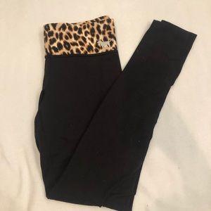pink cheetah and hot pink leggings